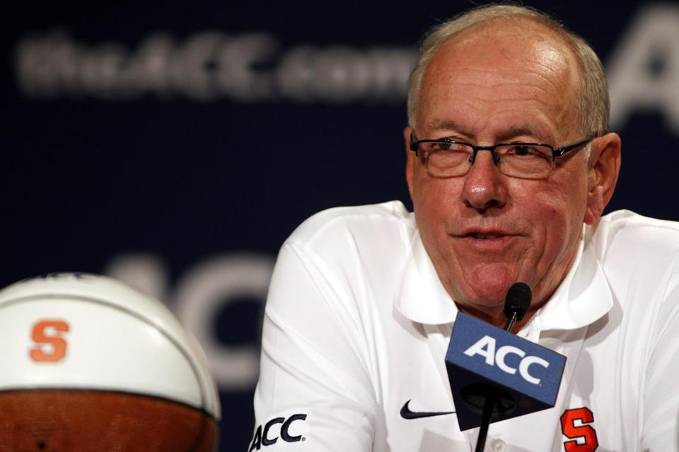 Syracuse coach Jim Boeheim, who spent 34 years in the Big East, said the team's transition to the ACC was not difficult.