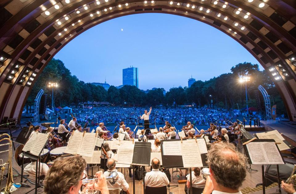 The last major renovation of the Hatch Shell was in 1991.