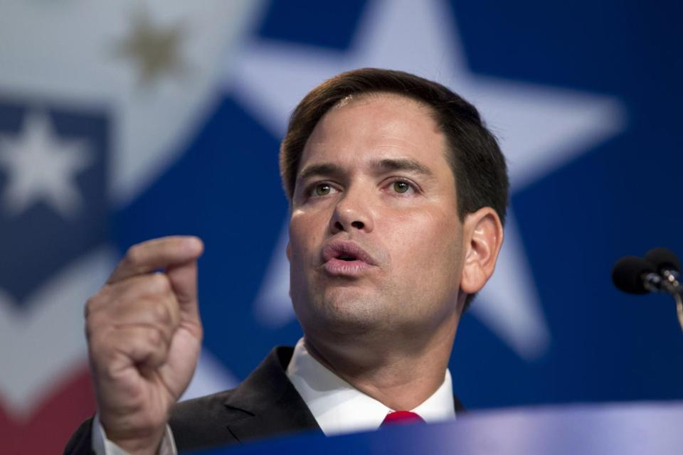 """This fight is not over. It has really only just begun,"" said Senator Marco Rubio."