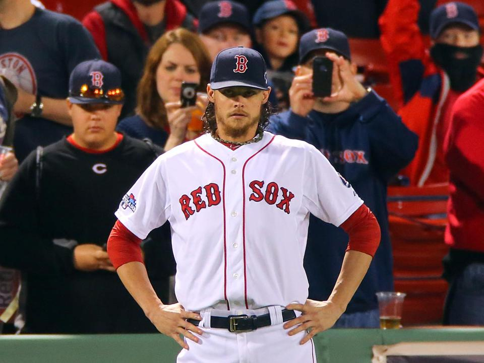 In three starts this postseason, Clay Buchholz is winless with a 5.40 ERA.