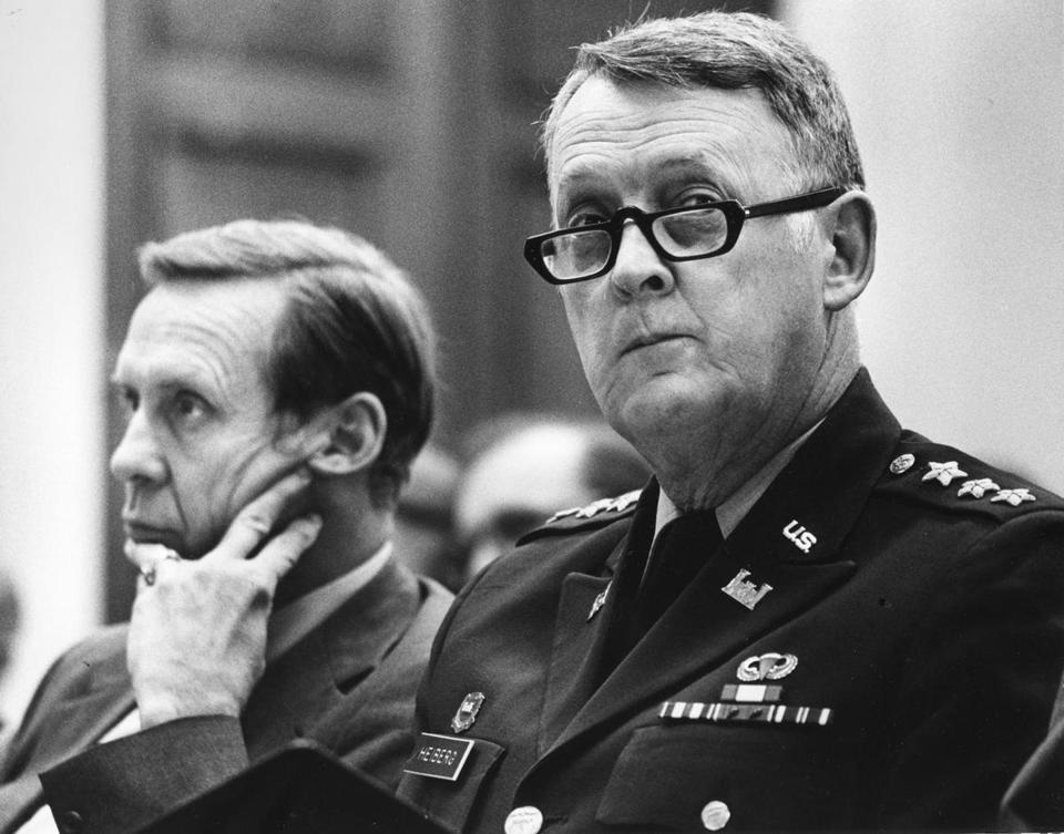 Lieutenant General Elvin Heiberg III led the Army Corps of Engineers district that included New Orleans from 1984 to 1988.