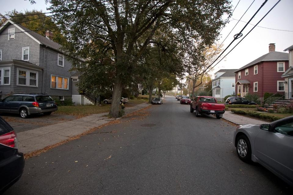 """We moved three times by the time I was 7,"" recalls John R. Connolly. His favorite house was at 122 Montclair Ave., at left with the large tree in front."