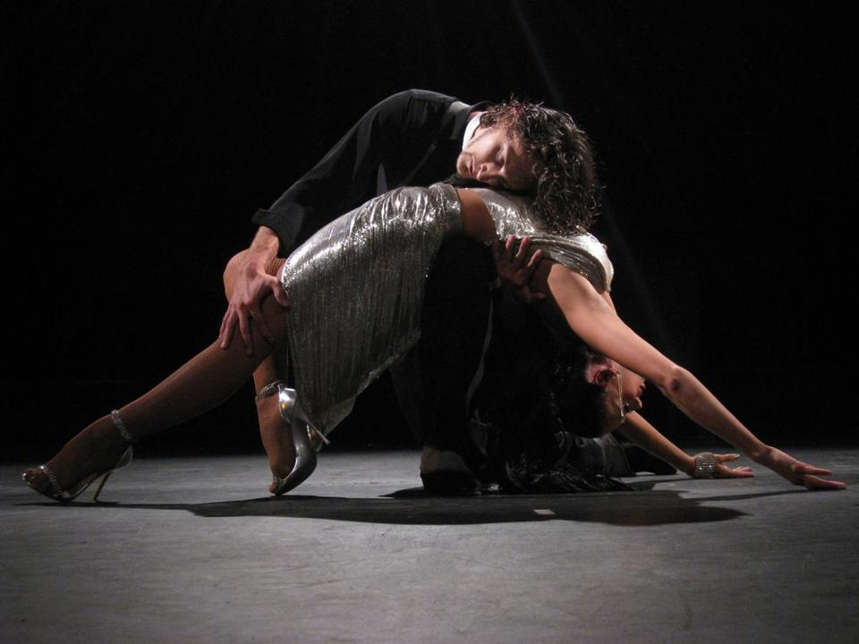 "Victoria Galoto and Juan Paulo Horvath in ""Forever Tango.''"