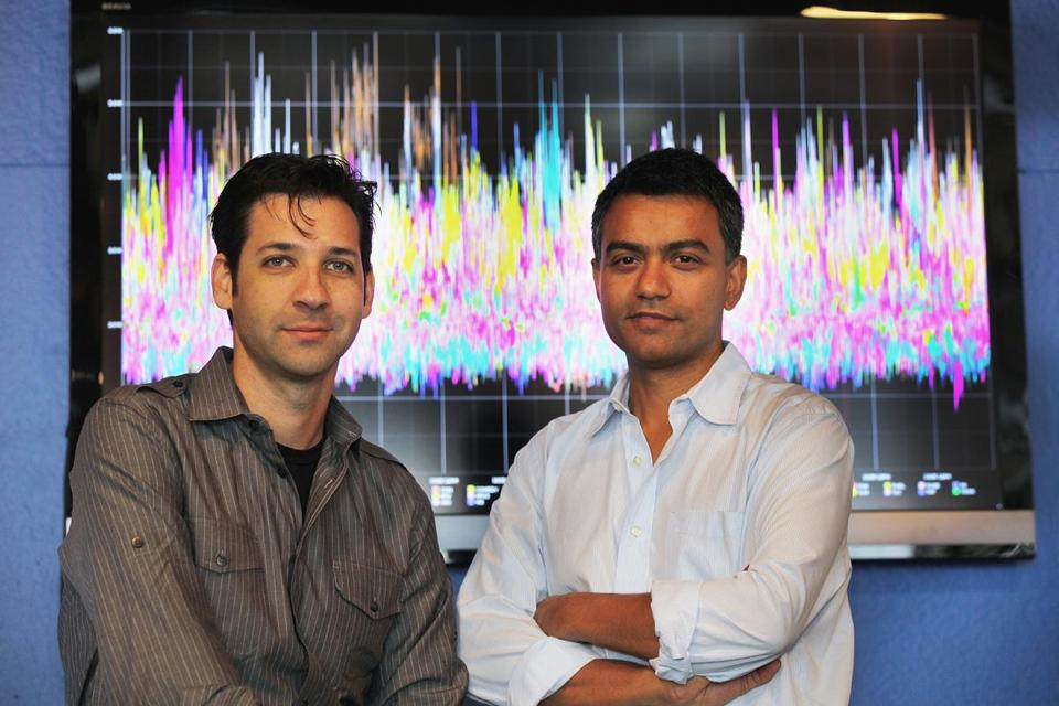 Bluefin was founded in 2008 by MIT professor Deb Roy (right) and his former doctoral student Michael Fleischman.