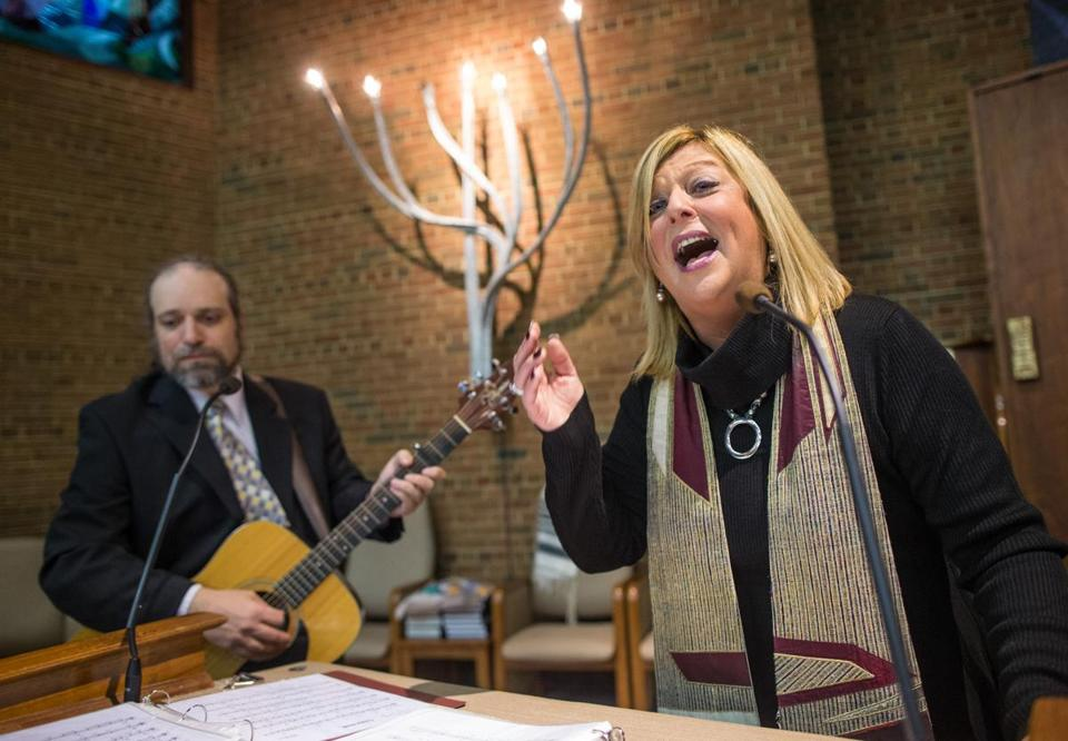 Jodi Schechtman  in Framingham is part of a new wave of 21st-century cantors.