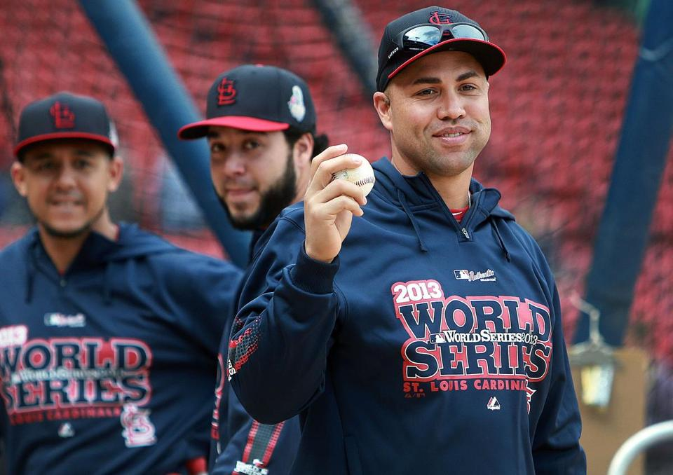 Carlos Beltran will be playing in the World Series for the first time in his career.