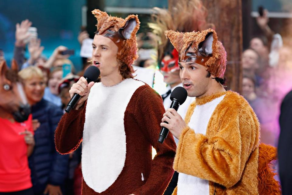 """Massachusetts""is a pretty inane and unfunny follow-up to ""The Fox,"" the intentionally absurd song from a Norwegian comedy act named Ylvis."