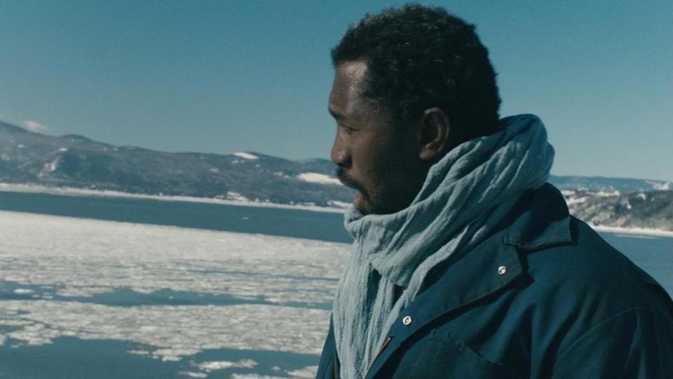 "Issaka Sawadogo plays a mechanic from the Ivory Coast whose ship is awaiting repairs in Canada in ""Diego Star.''"