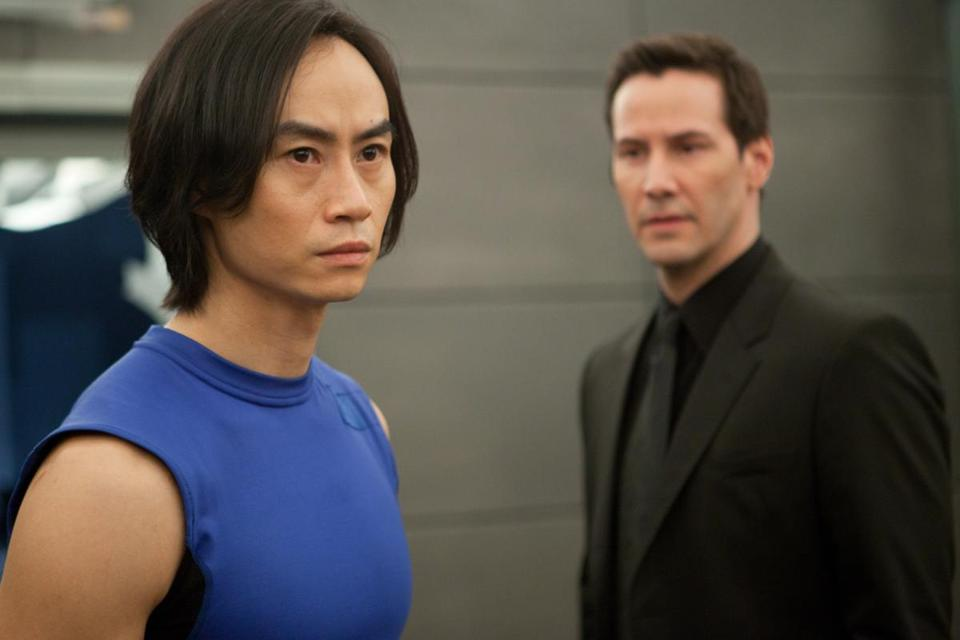 "Tiger Chen and Keanu Reeves in ""Man of Tai Chi,"" the film directing debut by Reeves."
