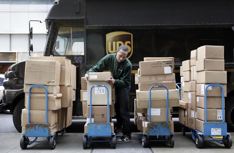 UPS said it plans to hire 55,000 holiday seasonal workers.
