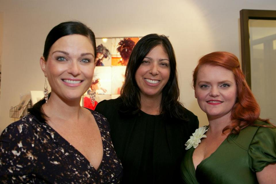 From left: Erica McDermott, Cheryl Richards, and Melissa McMeekin.