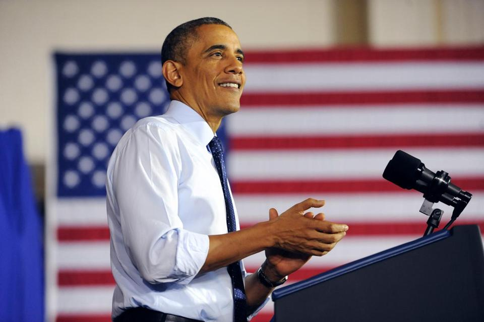 President Obama will speak at Faneuil Hall next week.