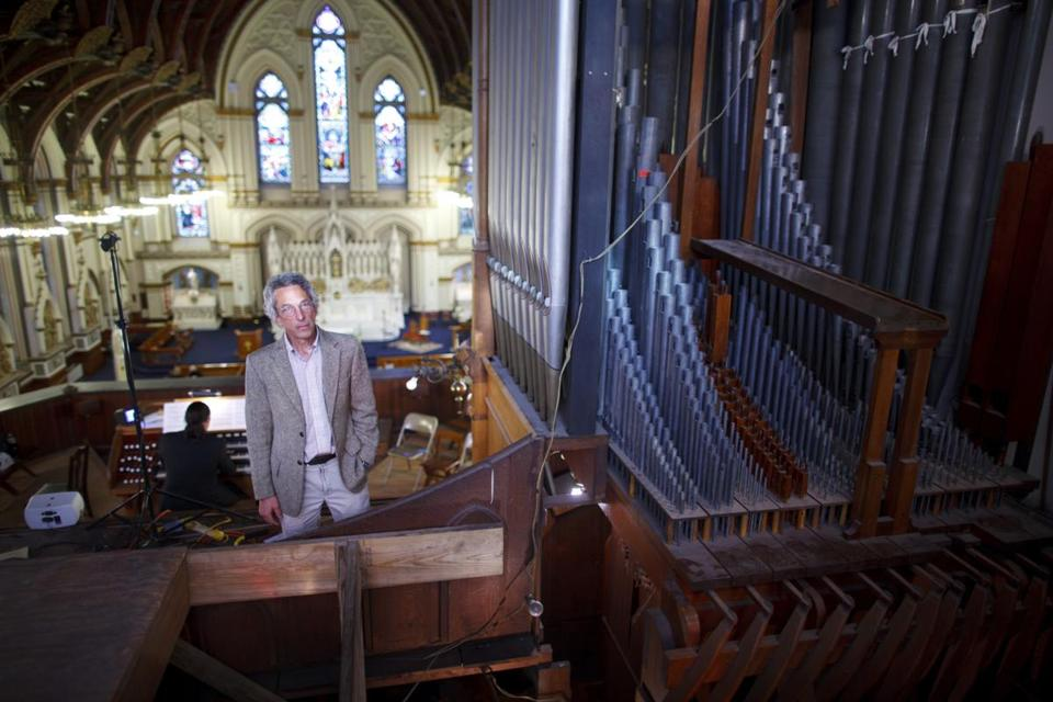 Lee Eiseman, 66, has been caring for the organ at Charlestown's St. Mary's Church since 1974, when the classical music aficionado and energetic tinkerer made a promise to organ builder Charles Fisk.