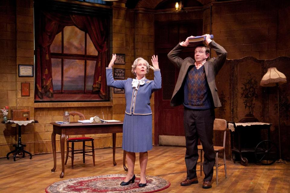 "Jan Neuberger plays a Steubenville, Ohio, etiquette teacher and Matthew Schneck is her student in ""Mrs. Mannerly."""