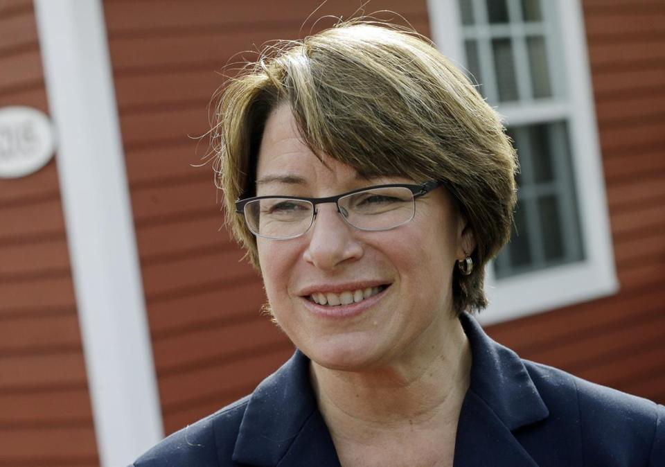 """In the middle of the chaos of the last month comes opportunity,"" said Senator Amy Klobuchar."