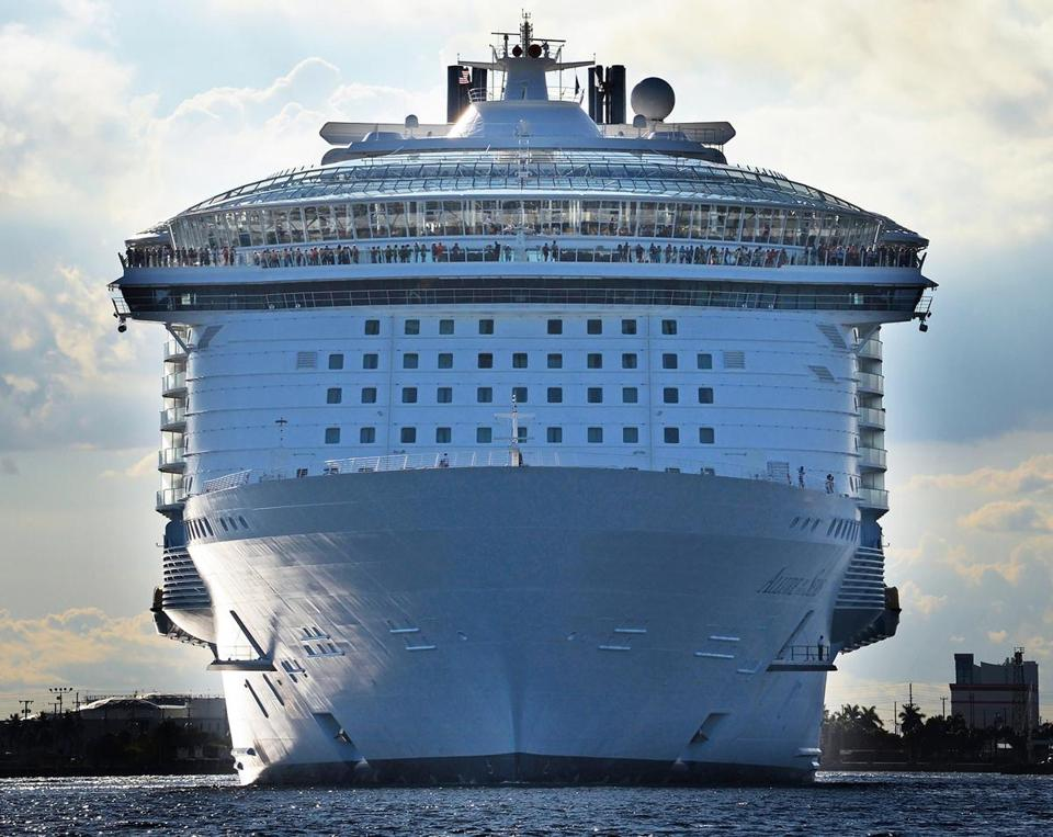 Allure of the Seas is the world's largest cruise liner.