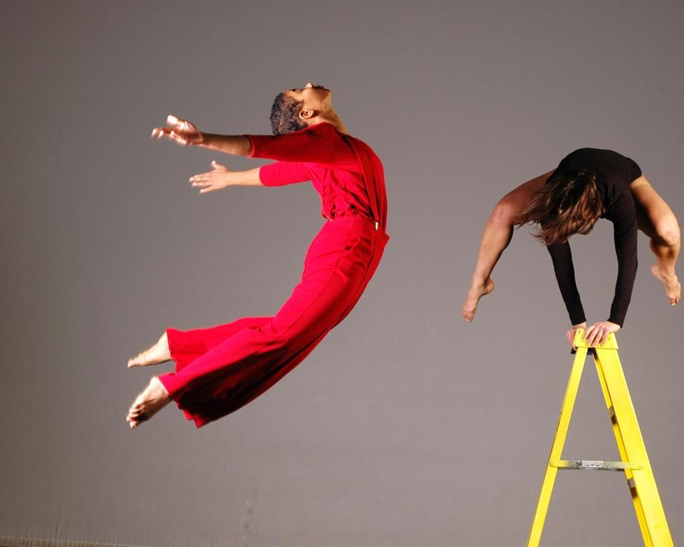 """Experiencing time and space and gravity in different ways is what we do as choreographers,"" says Adele Myers."