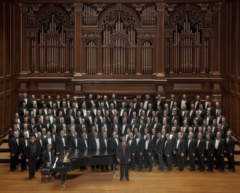 Local options include the Boston Gay Men's Chorus.