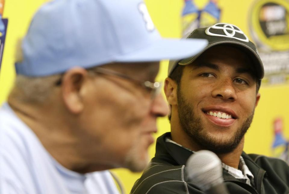 "Darrell Wallace Jr.: historic victory ""hasn't hit me yet."""
