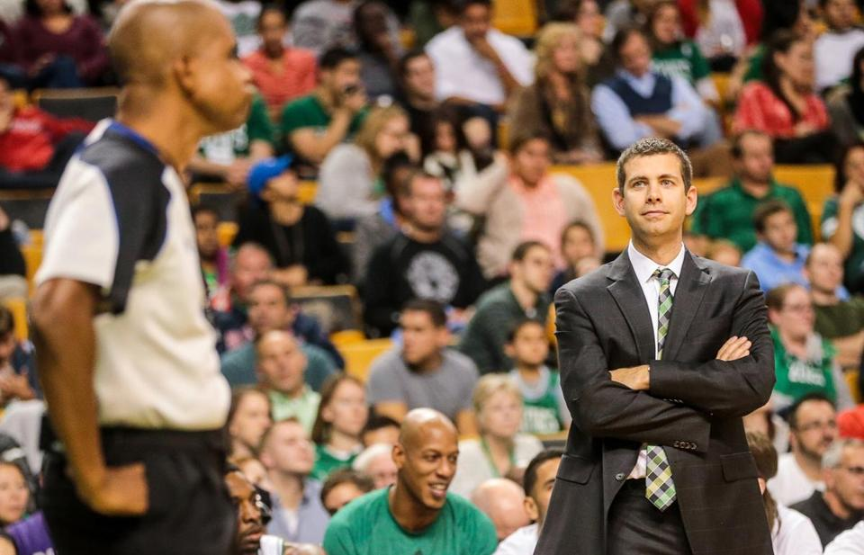Brad Stevens was given a six-year contract to be the Celtics head coach.