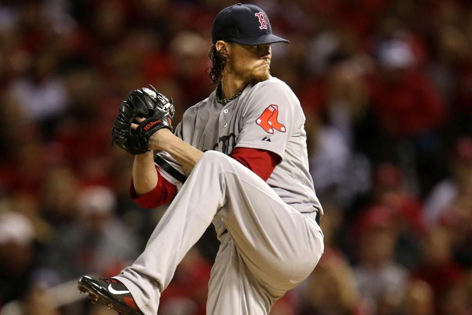 Lacking the usual zip on his fastball, Clay Buchholz allowed one unearned run over four frames.