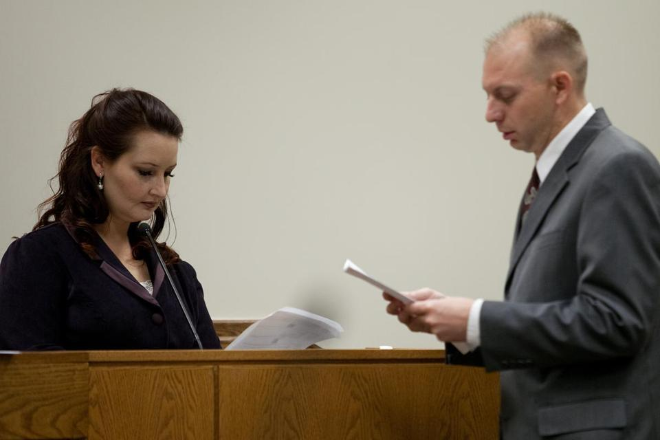 Gypsy Willis was questioned by Utah County prosecutor Sam Pead on Tuesday during the trial of Martin MacNeill, a Utah physician who is charged with killing his wife.