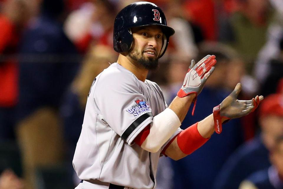 Before the game, Red Sox manager John Farrell said Shane Victorino would be available off the bench.