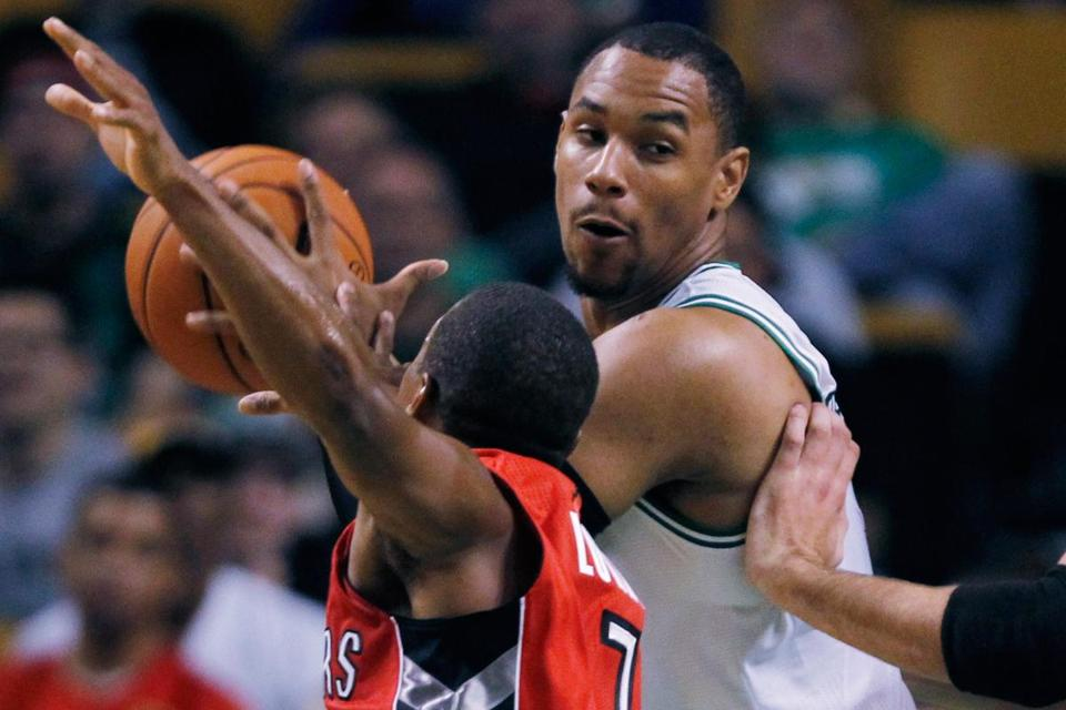 Jared Sullinger will serve his suspension during the regular-season opener Wednesday night against the Raptors in Toronto.