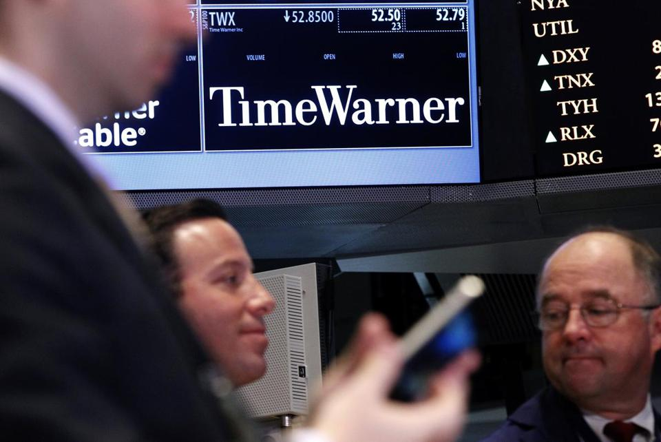 Time Warner Cable blamed a fight with CBS Corp. for a huge loss of subscribers in August.