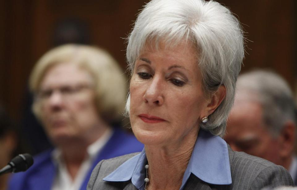 "Health and Human Services Secretary Kathleen Sebelius told a House committee Wednesday she is ""as frustrated and angry as anyone"" over the launch of the website."