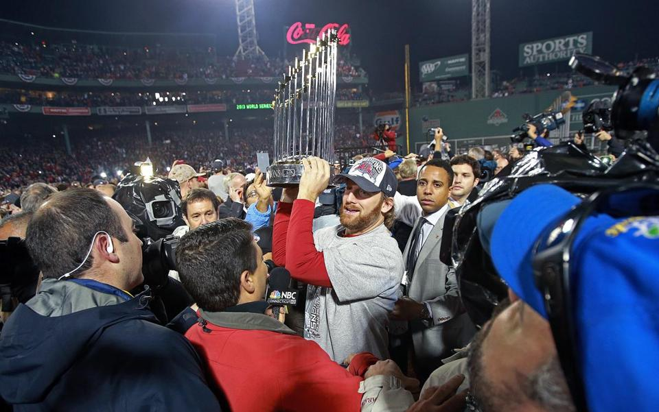 The Red Sox beat the Cardinals in six games to become the 2013 World Series champions.