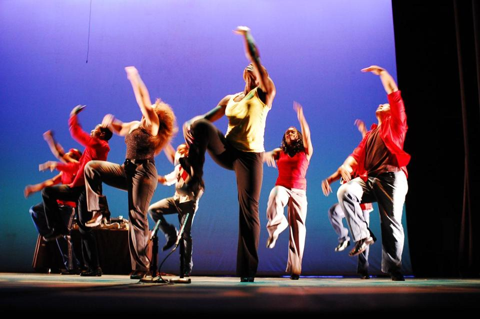 """We're trying to transform the theater into a place where everyone can make music and perform together,'' says C. Brian Williams, who founded Step Afrika! in 1994."