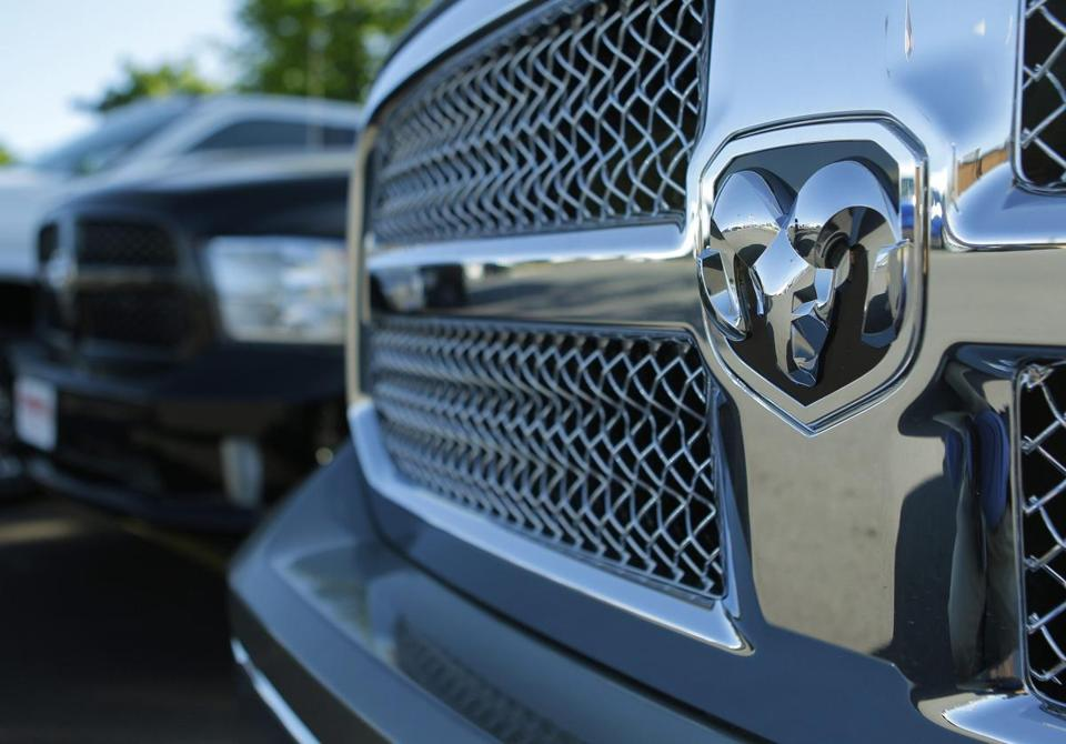 Sales of Chrysler's Ram pickup truck (above) rose 18 percent, and Chevrolet's Silverado pickup sales rose 10 percent.