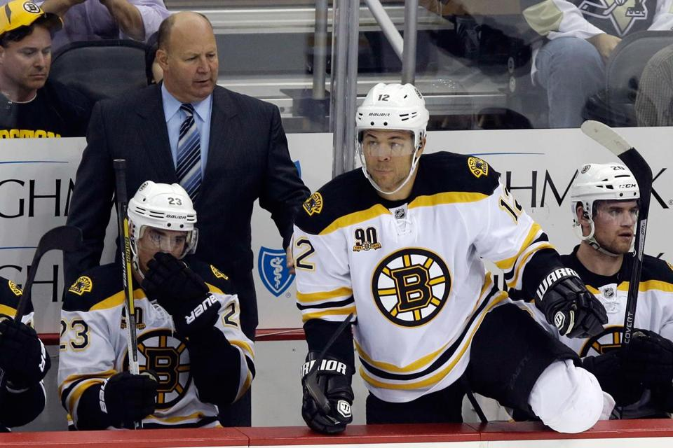 """I think our starts could be better, but sometimes I feel we analyze the game a little too much,'' said Bruins coach Claude Julien."