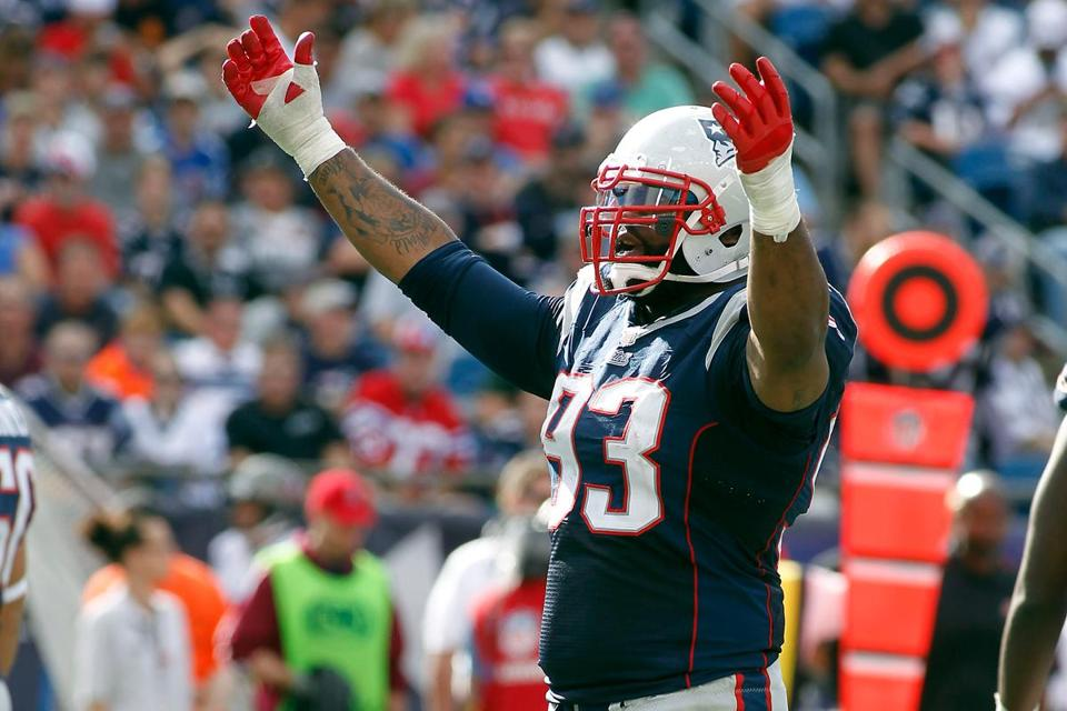 Tommy Kelly did not practice on Friday, the Patriots ruled him out for Sunday.
