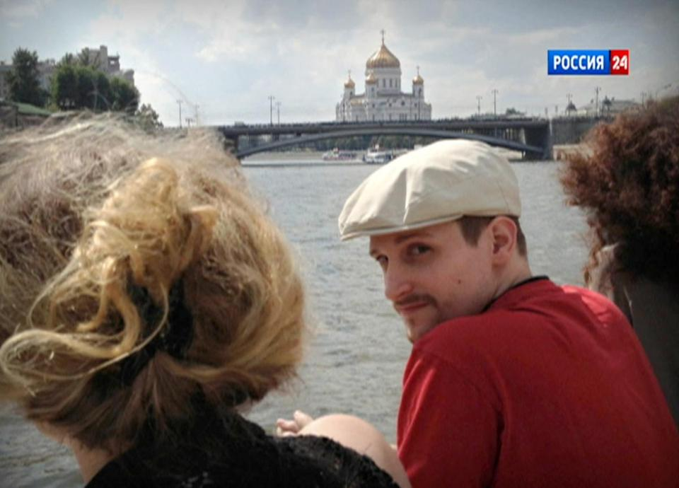 Edward J. Snowden, shown on a boat on the Moscow River in September, sought clemency in a letter.