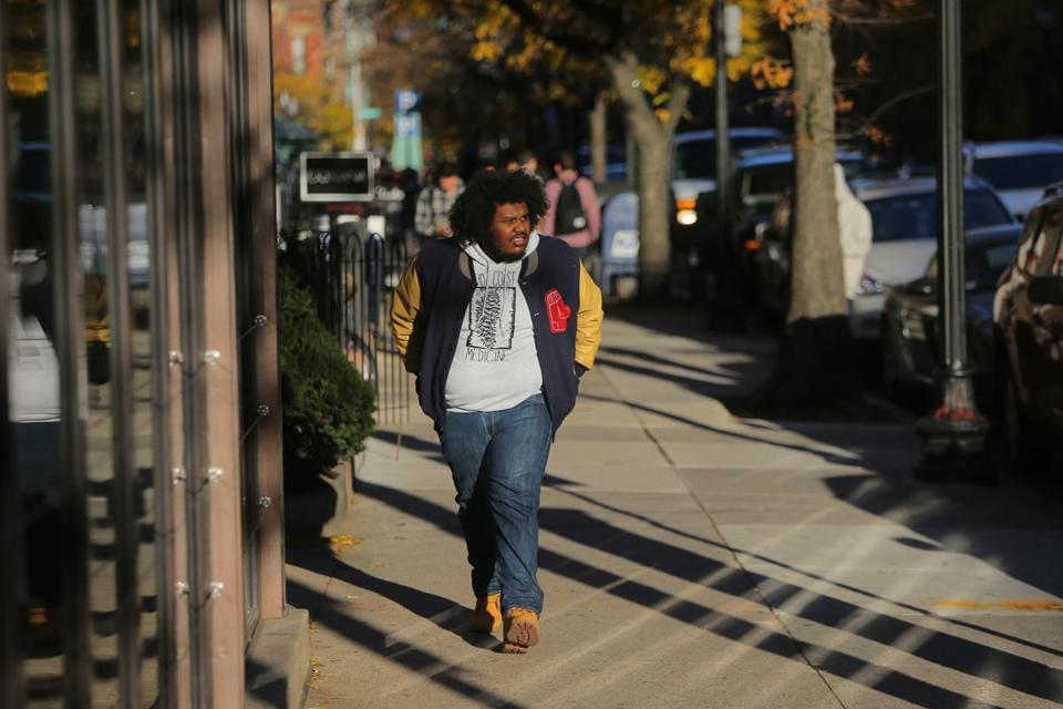 "Michael Christmas, who will tweak your day if you meet on the sidewalk, says, ""I am the opposite of the coolest rappers out."""