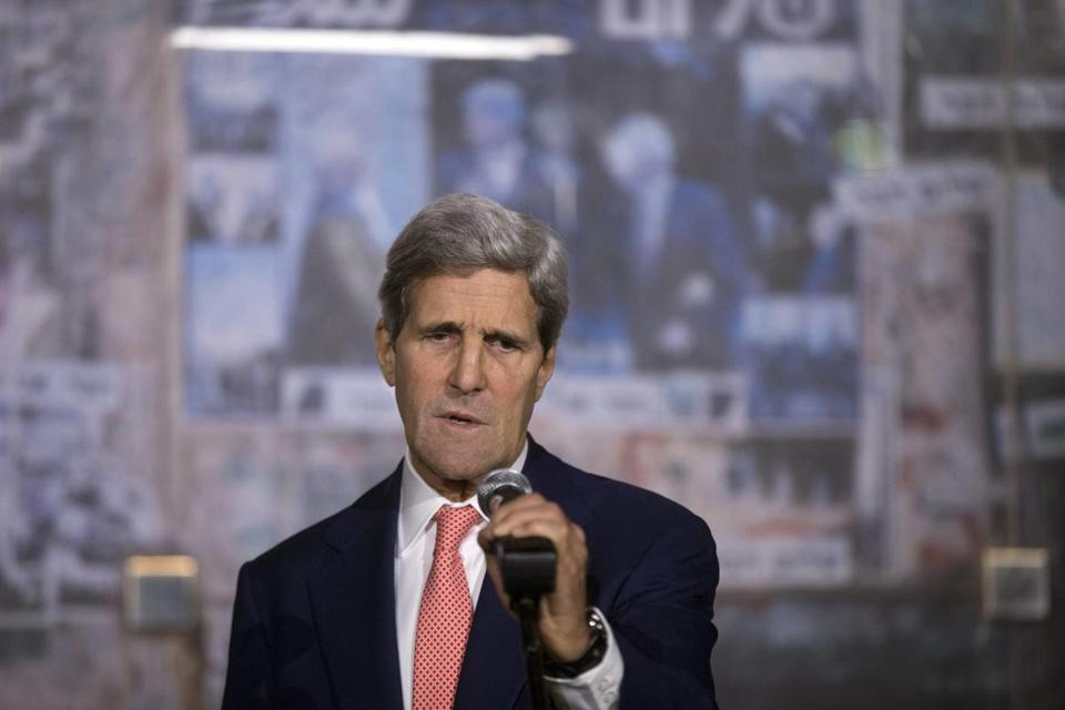 Kerry will meet Netanyahu in Jerusalem, then travel to the West Bank to meet with Abbas.
