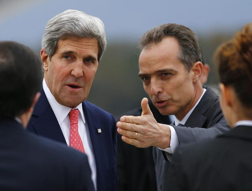 US Secretary of State John Kerry arrived in Geneva Friday for closed-door nuclear talks.