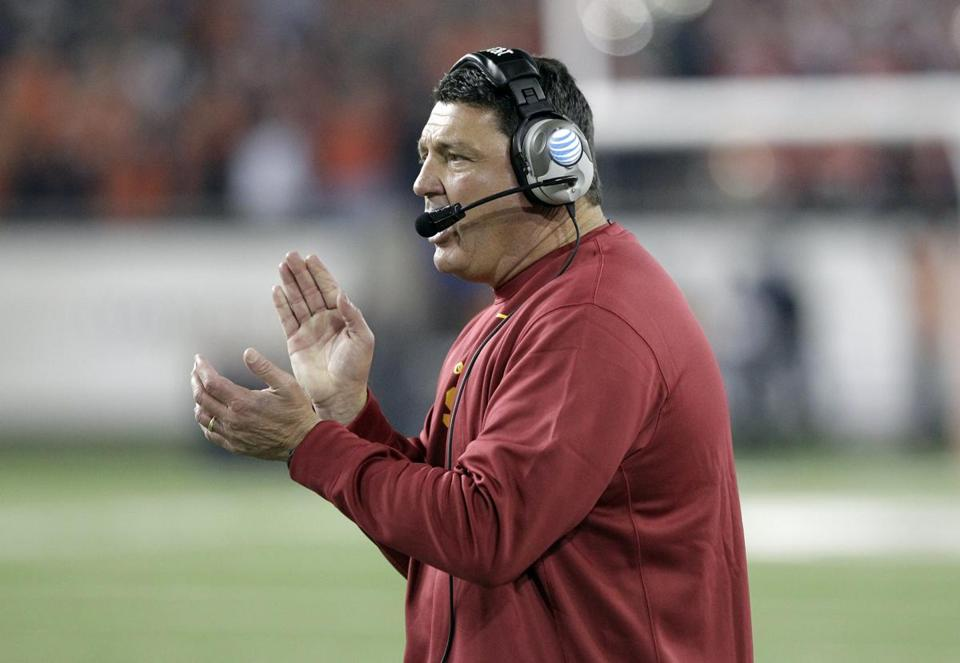 ED ORGERON: Is 3-1 as Trojans coach