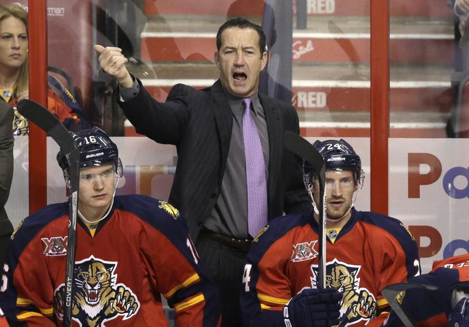 Kevin Dineen was the only coach in franchise history to lead the Panthers to a divisional title.