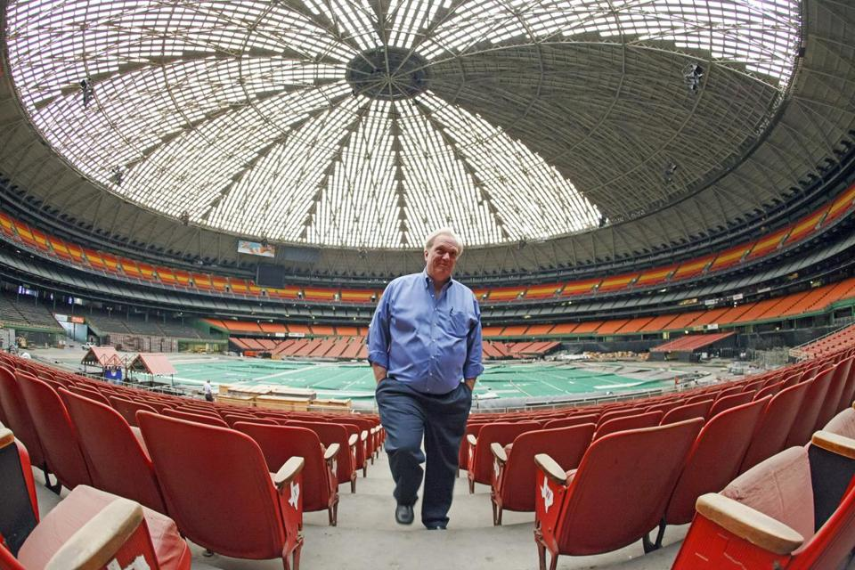Mark Miller manages arenas, including the Astrodome. Voters rejected a proposal to transform the old stadium.