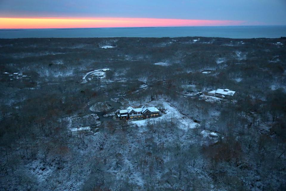 The Wampanoag Tribe of Gay Head (Aquinnah) plans to build a gambling hall on Martha's Vineyard.