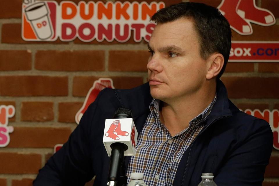 Ben Cherington said the Red Sox have held discussions with all three players about contract parameters.
