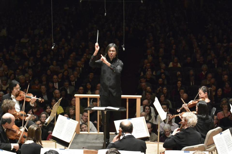 Leonidas Kavakos conducted the BSO through a crisp, stylish Prokofiev.