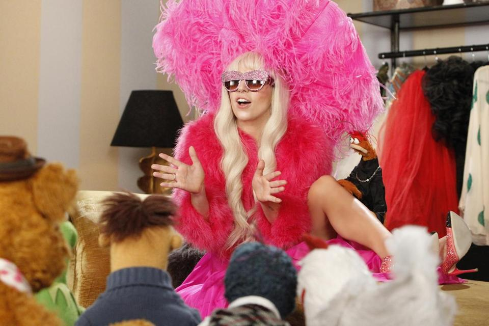 Lady Gaga joins the Muppets for a holiday show on ABC.