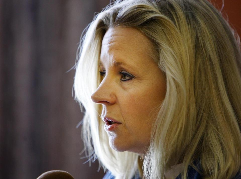 "Liz Cheney spoke about her disagreement with her sister Mary, who is gay, on ""Fox News Sunday."""