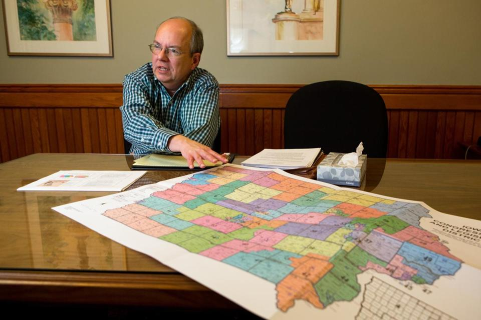 "Iowa's redistricting system is nonpartisan, an arrangement that protects the minority party. ""This puts the voter as the primary consideration,"" said Ed Cook, counsel for the agency that draws the lines."