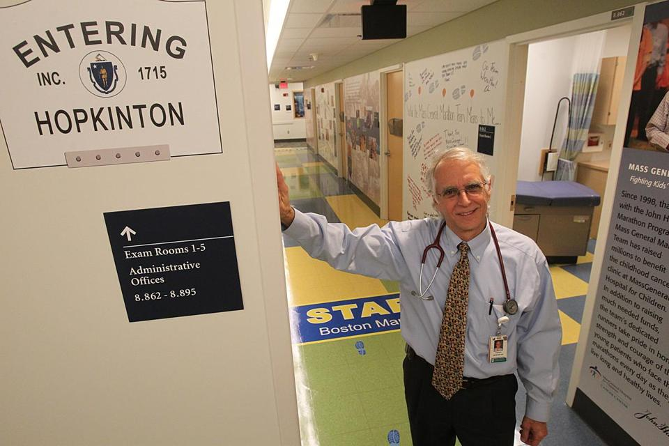Dr. Howard Weinstein, who leads Mass General's Marathon team, has been barraged with bib requests.