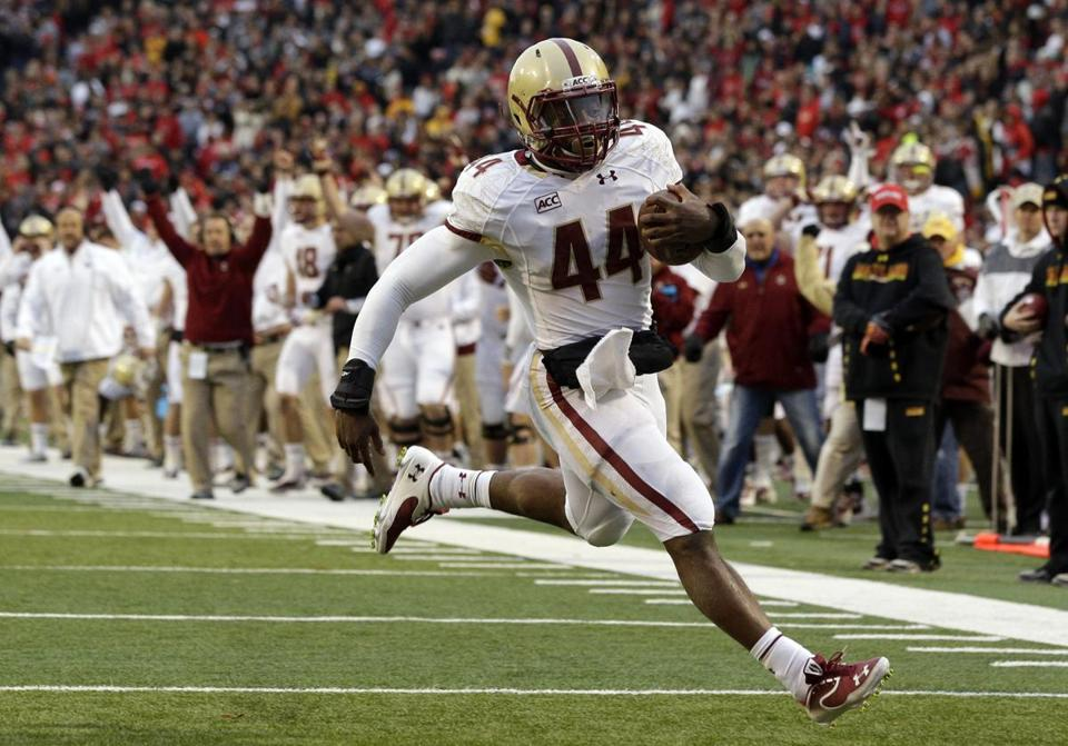 Andre Williams ran for 263 yards, becoming the first BC player to rush for 2,000 in a year.